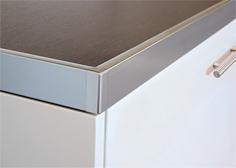 Планки и профили алюминиевые для столешниц и ЛДСП